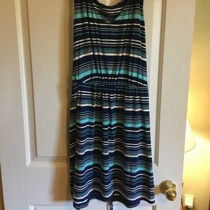Striped Merona summer dress